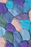 Fondo acanalado del yeso del color decorativo, XXXL Imagen de archivo