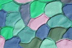 Fondo acanalado del yeso del color decorativo, XXXL Fotografía de archivo libre de regalías