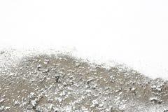 Fondo acrilico astratto d'argento con spazio vuoto per testo Immagini Stock Libere da Diritti