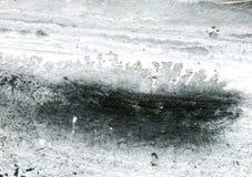 Fondo acrilico in bianco e nero Immagini Stock
