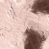 Fondo acrilico strutturato astratto in tonalità beige Fotografia Stock Libera da Diritti