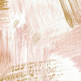 Fondo acrilico strutturato astratto in tonalità beige Immagine Stock Libera da Diritti