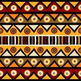 Fondo africano tribale illustrazione di stock
