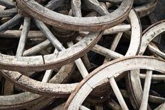 Fondo agradable de la rueda del carro Imagen de archivo