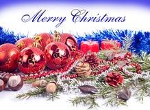 Fondo agradable de Navidad Fotos de archivo