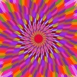Fondo agradable del vector abstracto de la flor foto de archivo