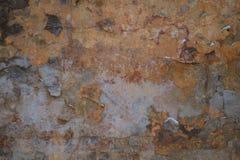 fondo agrietado Brown-gris de la pared fotos de archivo