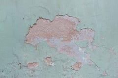 Fondo agrietado de la pared Foto de archivo
