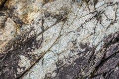 Fondo agrietado de la roca Fotografía de archivo