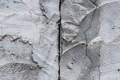 Fondo agrietado del piso del cemento de la textura de la pared Imágenes de archivo libres de regalías