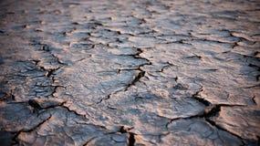 Fondo agrietado del suelo de la tierra Imagen de archivo libre de regalías