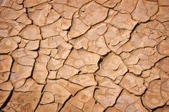 Fondo agrietado seco de la tierra, textura del desierto Foto de archivo libre de regalías