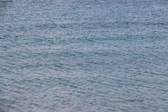 Fondo, agua azul del océano Imagenes de archivo