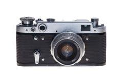 Fondo aislado cámara análoga de la película del vintage Fotografía de archivo