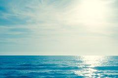 Fondo al aire libre de la fotografía de la onda del mar   océano fuerte del movimiento Fotos de archivo libres de regalías