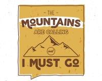 Fondo al aire libre de la inspiración Plantilla de motivación de la cita del folleto de la montaña Aviador del deporte de la snow Imagenes de archivo