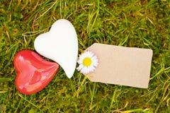 Fondo al aire libre de la tarjeta de felicitación Imagen de archivo libre de regalías
