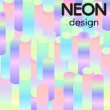 Fondo al neon astratto di vettore Fotografia Stock Libera da Diritti