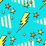 Fondo al neon 80s, 90s di schiocco di vettore Immagini Stock Libere da Diritti