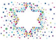 Fondo alegre al día de fiesta judío Imágenes de archivo libres de regalías