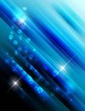 Fondo alla moda blu Fotografia Stock
