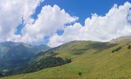 Fondo alpino semplice Fotografia Stock