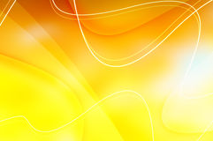 Fondo amarillo Foto de archivo libre de regalías