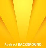 Fondo amarillo abstracto Imagen de archivo libre de regalías
