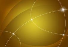 Fondo amarillo abstracto Fotos de archivo libres de regalías
