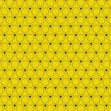 Fondo amarillo abstracto con diseño moderno del modelo del hexágono Vector eps10 del ejemplo ilustración del vector