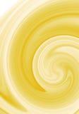 Fondo amarillo abstracto del remolino stock de ilustración