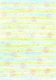 Fondo amarillo-azul a mano Fotos de archivo