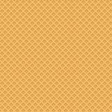 Fondo amarillo de la oblea Ilustraci?n del vector ilustración del vector