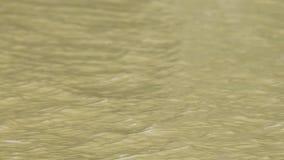 Fondo amarillo de la onda Fotos de archivo libres de regalías