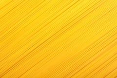 Fondo amarillo de las pastas Imagenes de archivo
