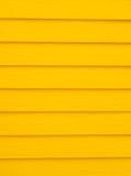 Fondo amarillo de madera Imagen de archivo