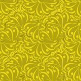 Fondo amarillo inconsútil de la textura del modelo del remiendo Foto de archivo