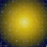 Fondo - amarillo/mosaico azul Fotos de archivo libres de regalías