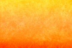 Fondo amarillo-naranja Fotografía de archivo