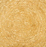Fondo Amarillo natural de la paja Textura Fotografía de archivo libre de regalías