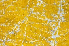 Fondo amarillo, papel pintado amarillo, Tailandia Foto de archivo libre de regalías