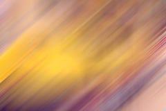 Fondo amarillo, rosado y violeta de la falta de definición de movimiento del tono Foto de archivo libre de regalías