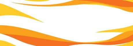 Fondo amarillo y anaranjado ilustración del vector