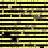 Fondo amarillo y negro abstracto con la forma del cuadrado, modelo del rectángulo Fotos de archivo libres de regalías
