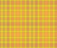 Fondo amarillo y rosado de la tela escocesa Ilustración del Vector