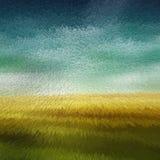 Fondo amarillo y verde de la textura de Extrube Imagen de archivo