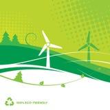 Fondo ambiental Imagen de archivo libre de regalías