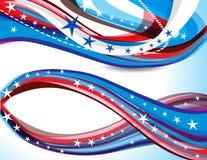 Fondo americano del día de la república ilustración del vector