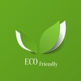 Fondo amistoso de Eco ilustración del vector