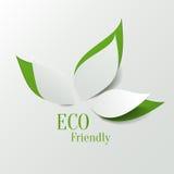 Fondo amistoso de Eco stock de ilustración